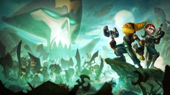 Video games ratchet and clank Wallpaper