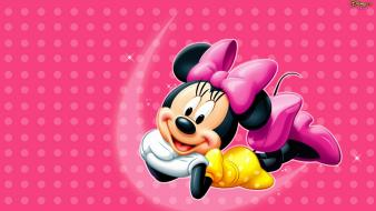 Walt disney polka dots minnie mouse wallpaper