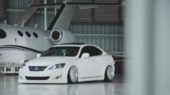 White tuning hangar lexus is wallpaper