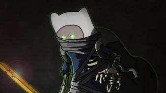 Zombies adventure time finn the human Wallpaper