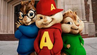 2010 Alvin And The Chipmunks Squeakquel wallpaper