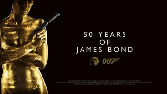 50 Years Of James Bond Hd wallpaper