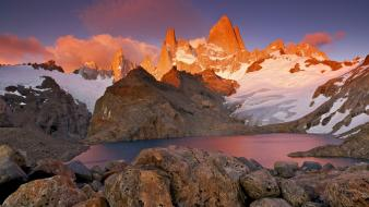 Argentina los glaciares national park mount patagonia wallpaper