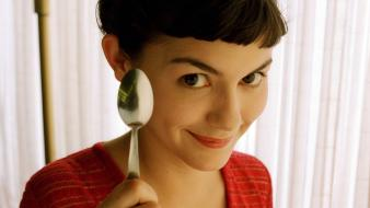 Audrey Tautou As Amelie Hd wallpaper