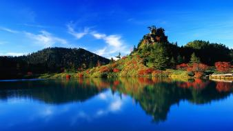 Autumn Reflection Japan wallpaper