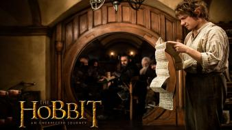 Bilbo Baggins In The Hobbit 2012 Wallpaper