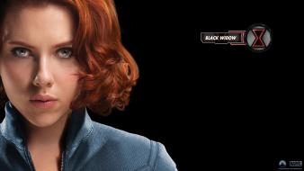 Black Widow In Avengers Movie Hd wallpaper