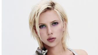 Blondes women scarlett johansson people portraits Wallpaper