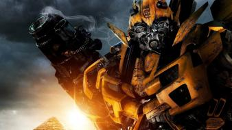 Bumblebee In Transformers 2 wallpaper