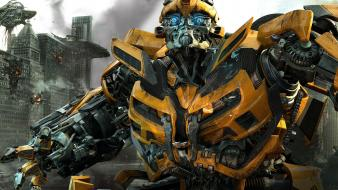 Bumblebee In Transformers 3 Wallpaper