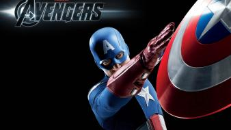 Captain America In The Avengers wallpaper