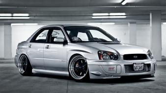 Cars subaru impreza wrx jdm hella flush wallpaper