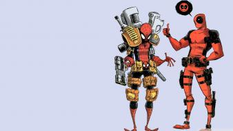 Comics spider-man superheroes deadpool (comic character) rob liefeld wallpaper