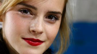 Emma watson close up wallpaper