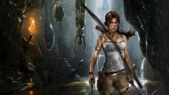 Lara Croft Reborn Hd wallpaper