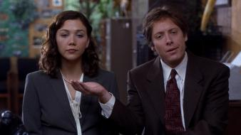 Maggie gyllenhaal screenshots secretary (movie) james spader wallpaper