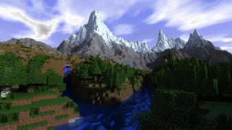 Minecraft realism wallpaper