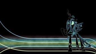 My little pony glow queen chrysalis wallpaper