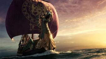 Narnia Dawn Treader Ship wallpaper