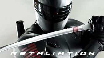 Snake Eyes In Gi Joe 2 Retaliation wallpaper