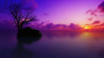 Sun Set Maldives wallpaper