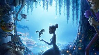 The princess and the frog movie Wallpaper