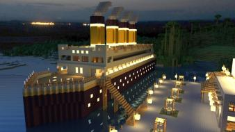 Titanic minecraft wallpaper
