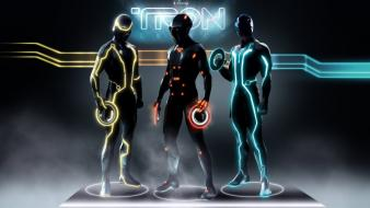 Tron Legacy Characters Hd wallpaper