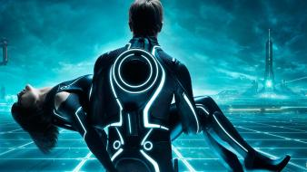 Tron Legacy Multi Monitor wallpaper