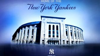 Baseball mlb new york yankees stadium wallpaper