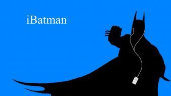 Batman minimalistic ipod artwork wallpaper