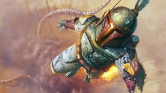 Boba fett artwork wallpaper