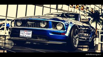 Cars ford mustang sports gran turismo 5 wallpaper