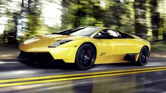 Cars lamborghini roads vehicles murciélago lp670-4 sv wallpaper