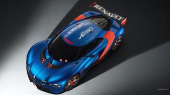 Cars renault alpine a110 wallpaper