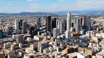 Cityscapes architecture buildings usa skyscrapers los angeles wallpaper