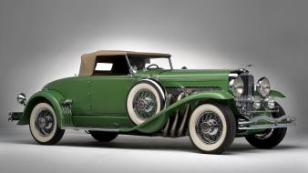 Convertible duesenberg classic front angle view j wallpaper
