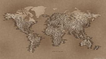 Earth maps world map cartography geography Wallpaper