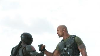 Eyes dwayne johnson g.i. joe retaliation gi wallpaper