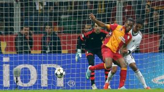 Galatasaray sk didier drogba goal wallpaper