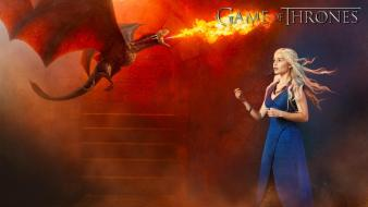 Game of thrones emilia clarke daenerys targaryen wallpaper