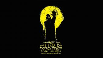 George lucas lucasarts fan art black background wallpaper