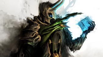 Gothic the avengers loki tesseract thedurrrrian (deviant artist) wallpaper