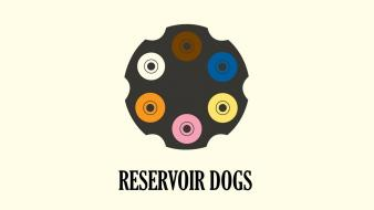 Guns reservoir dogs artwork glennz simple background wallpaper