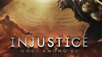 Hero injustice: gods among us gameinformer magazine wallpaper