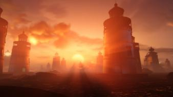 Lighthouses bioshock infinite wallpaper