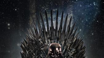 Lightsabers game of thrones iron throne clones wallpaper