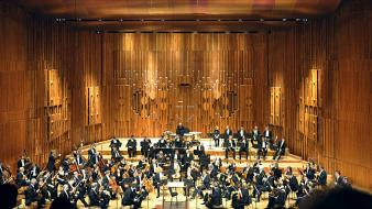 London hall orchestra wallpaper