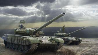 Military tanks artwork t-72 t-90 wallpaper