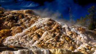 Nature usa wyoming yellowstone national park Wallpaper